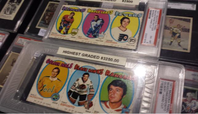 Bazooka hockey panels 1971-72