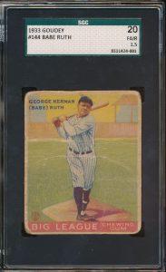 1933-Goudey-Babe-Ruth-144-SGC