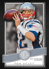 Tom Brady 2015 Topps Museum football base card