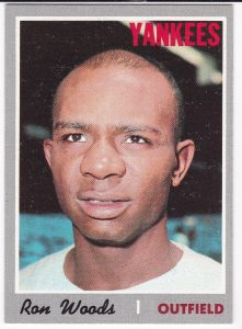 Ron Woods 1970 Topps
