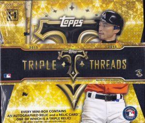 Triple Threads Baseball 2015 box