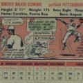 Roberto Clemente 1956 Topps