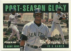 Ken Griffey Jr Post-Season Glory 1996