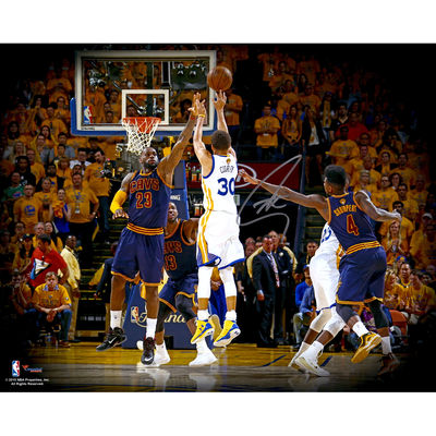 Autographed Stephen Curry photo