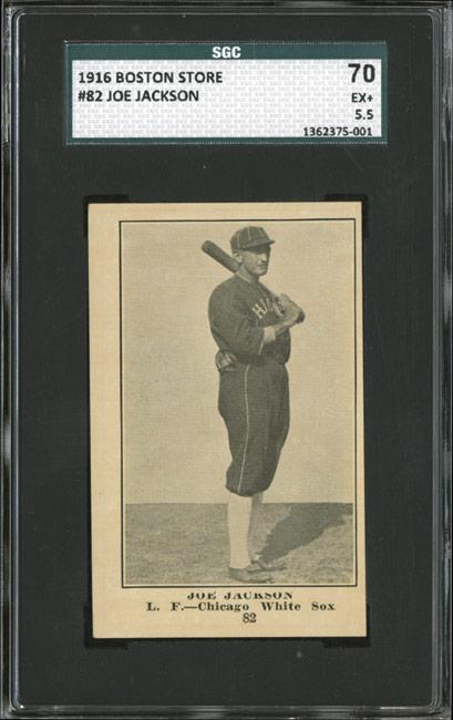 Joe Jackson 1916 Boston Store