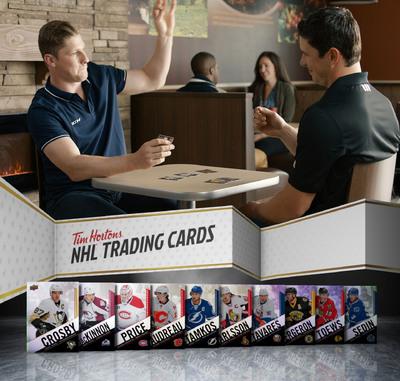 Nathan MacKinnon-Sidney Crosby Tim Hortons