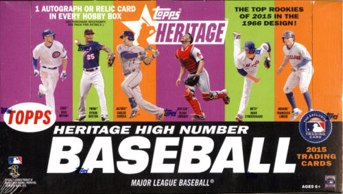 Topps 2015 Heritage High Number Baseball
