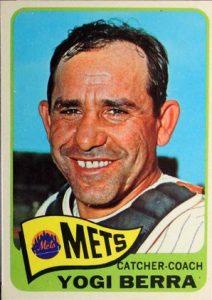 Yogi Berra 1965 Topps