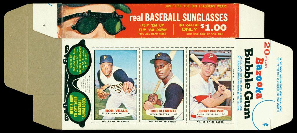 Bazooka 1965 baseball complete box