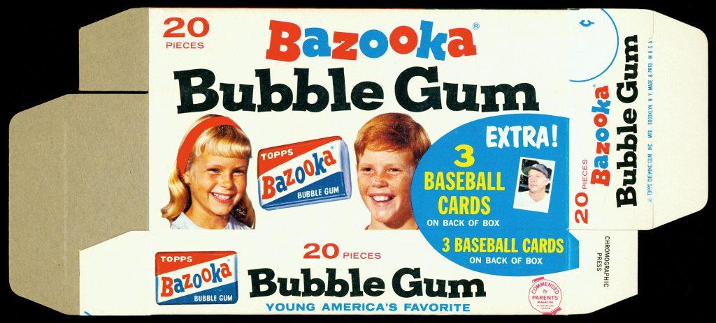 Bazooka 1965 box front