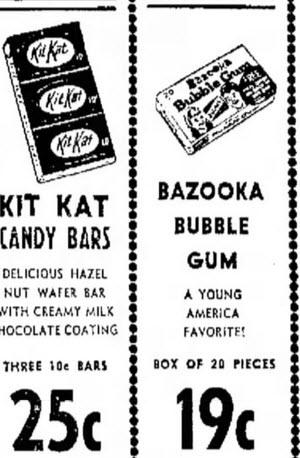 Ad Bazooka grocery