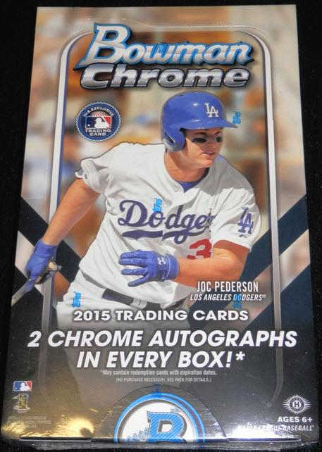 Bowman Chrome Baseball 2015