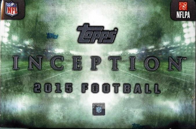 Topps 2015 Inception Football box