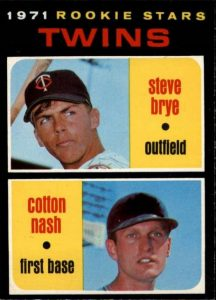 1971 Topps Cotton Nash