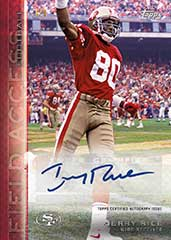 Jerry Rice Topps autograph 2015 All-Access
