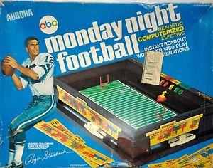 Monday Night Football Board Game