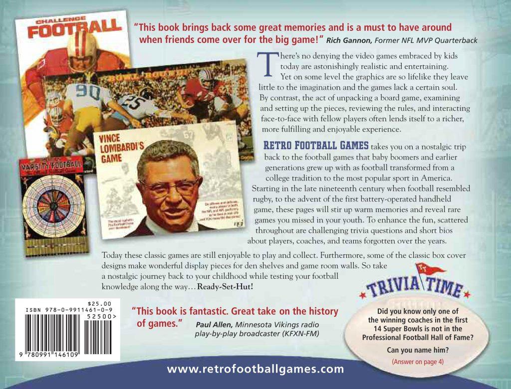 Book Retro Football Games