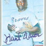 Hank Aaron Topps Archives Signature Series