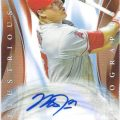 Mike Trout 2015 Topps Chrome Illustrious Mike Trout auto