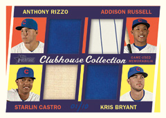 2016 Topps Heritage Clubhouse Collection