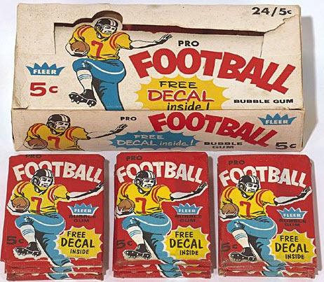 Fleer 1960 Football Cards