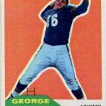 George Blanda 1960 Fleer