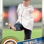 Topps 2015 First Pitch Tom Willis