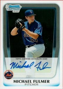 Bowman Chrome Michael Fulmer