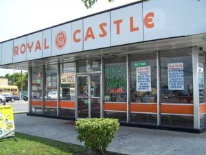 There used to be nearly 200 Royal Castle restaurants in the South Florida area. This is the last one, still standing in Miami today.