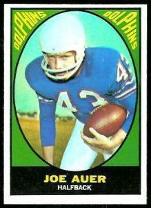 Joe Auer 1967 Topps