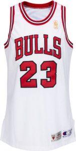 Game-worn Michael Jordan 1996-97 home