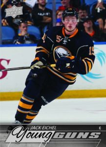 2015-16 Upper Deck Series Two Hockey Jack Eichel Young Guns