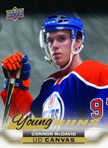 2015-16 Upper Deck Young Guns Canvas Connor McDavid