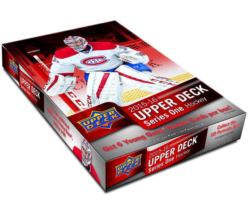 Upper Deck 2015-16 Series One hockey box