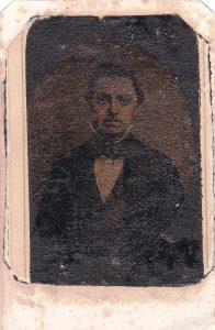 1800s cloth tintype