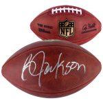Autographed Bo Jackson football