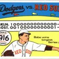 Fleer World Series 1916