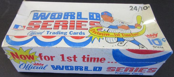 Display box 1970 Fleer World Series