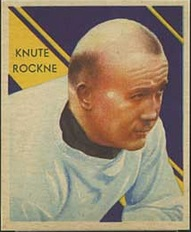 Knute Rockne 1935 National Chicle