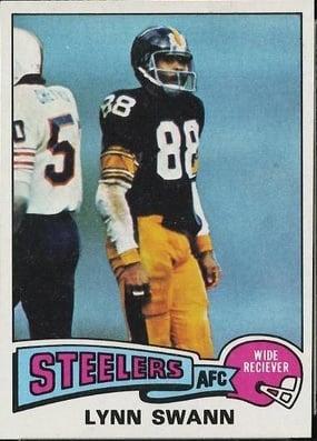 Lynn Swann rookie card 1975