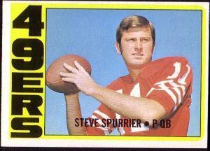 Steve Spurrier 1972 Topps