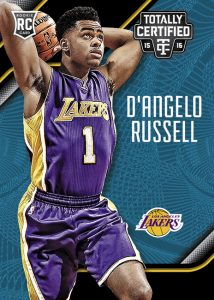 D'Angelo Russell 2015-16 Totally Certified rookie card