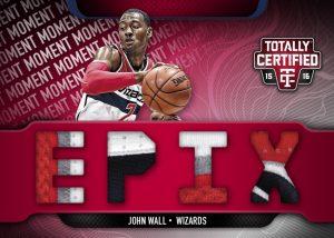 Epix John Wall Totally Certified basketball
