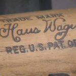 Honus Wagner bat
