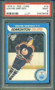 1979-80 OPC Wayne Gretzky Rookie card