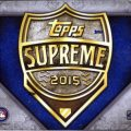 2015 Topps Supreme box