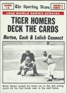 Tiger Homers Deck the Cards