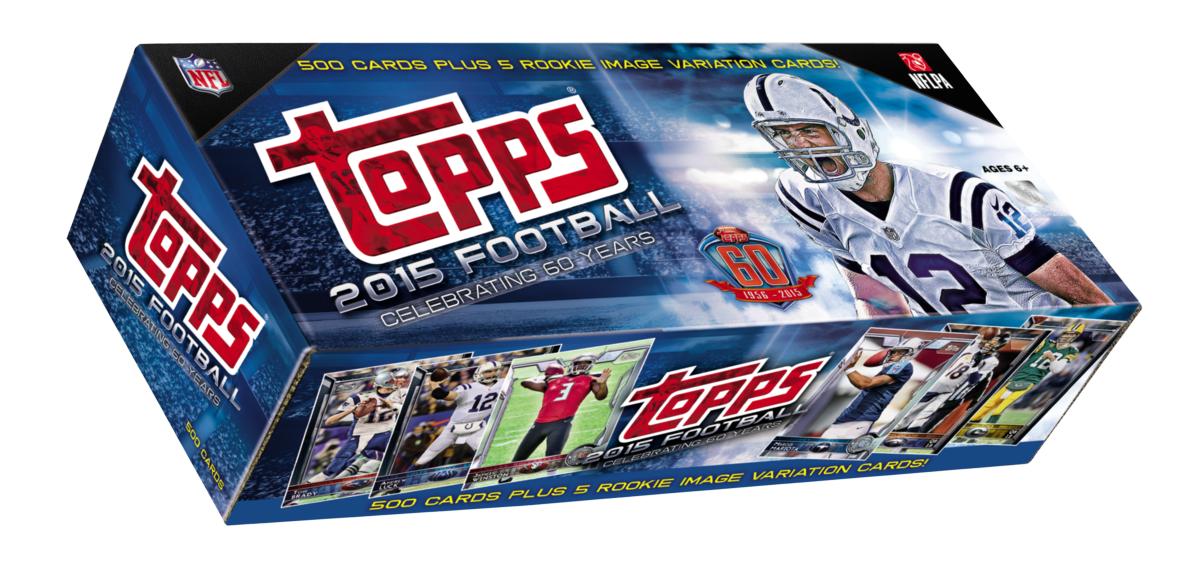 Factory set 2015 Topps Football