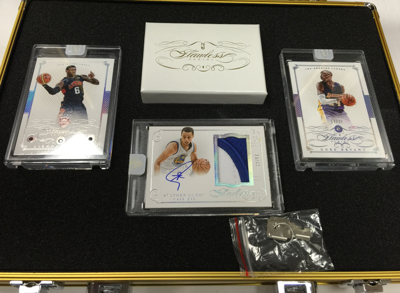 2014-15 Panini Flawless Basketball box