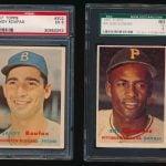 1957 Topps Baseball Koufax Clemente